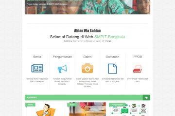 Download Source Code Aplikasi Web Sekolah dan PPDB Online berbasis framework Codeignitier Berbasis WEB PHP.