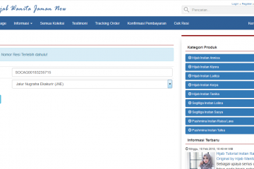 Download Source Code Aplikasi Toko Online Codeigniter Dengan Fitur Cek Ongkir + Cek Resi API Rajaongkir PRO Berbasis WEB PHP.