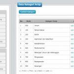 Sistem Informasi Kearsipan Daerah dengan PHP dan MySQL scodeaplikasi.com