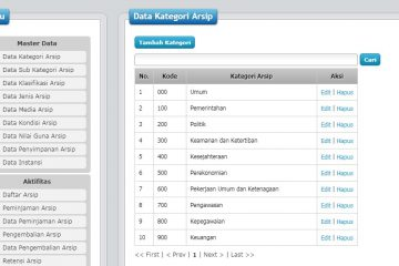 Download Source Code Aplikasi Sistem Informasi Kearsipan Daerah dengan PHP dan MySQL Berbasis WEB PHP.