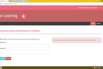 Download Source Code Aplikasi E-Learning Dan Ujian Online (Soal Acak) dengan PHP dan MySQL Berbasis WEB PHP.