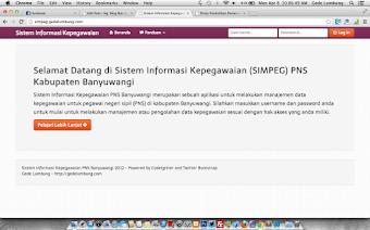 Source Code Aplikasi Sistem Informasi Kepegawaian (SIMPEG)