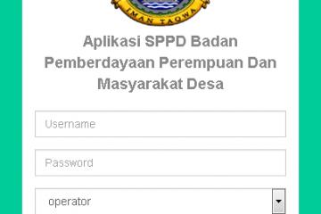 Download Source Code Aplikasi Source Code Sistem Informasi Surat Perintah Perjalanan Dinas (SPPD) PHP MYSQL Berbasis WEB PHP.